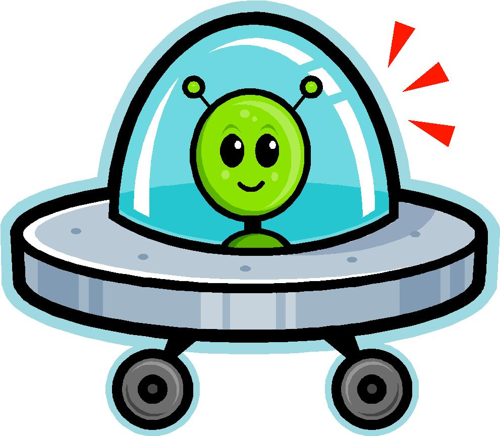 free clipart alien spaceship - photo #44