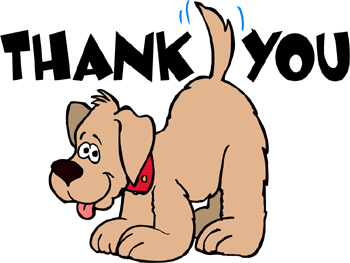Funny Thank You Animation Animated cliparts  Thank You
