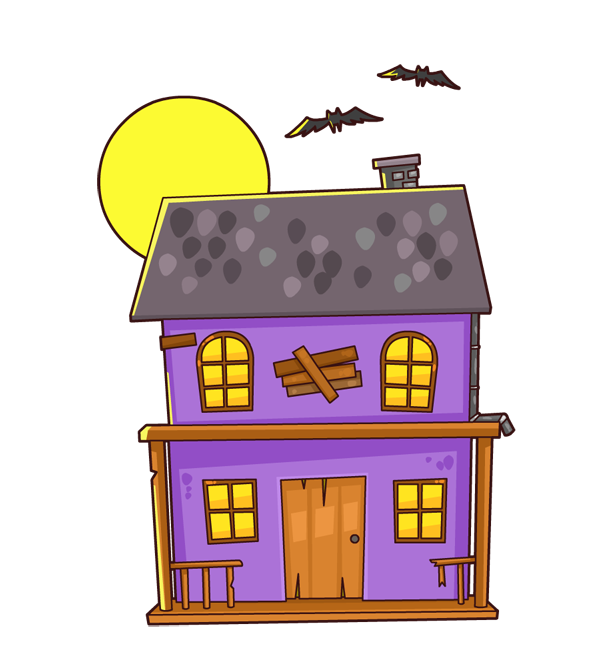 Cartoon haunted house pictures - Cartoon haunted house pics ...