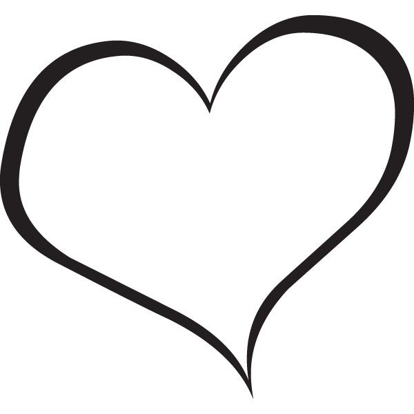 Heart Clip Art Black And White - Cliparts.co