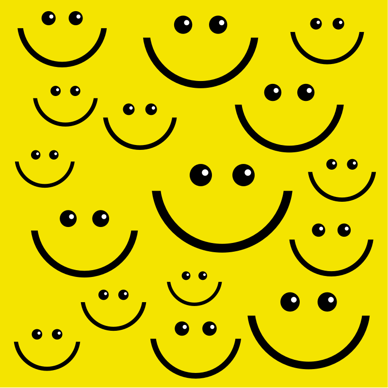 Clipart - Smiley Face Background