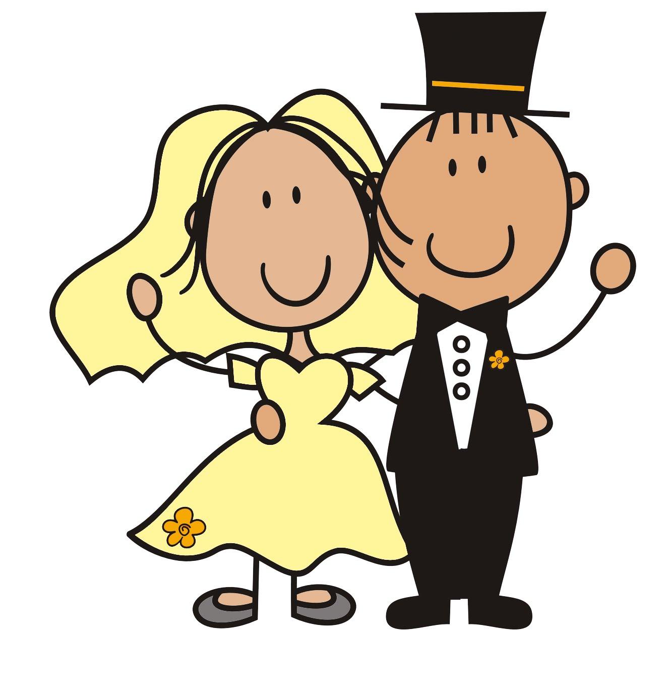 Wedding Cartoon Pics - Cliparts.co