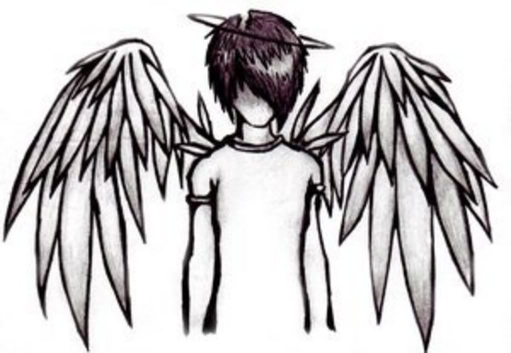 boy angel graphics and comments