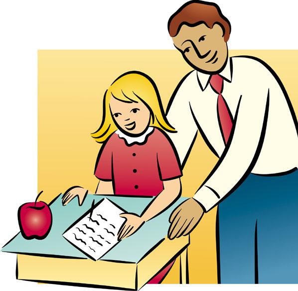 teacher and student clipart - photo #16