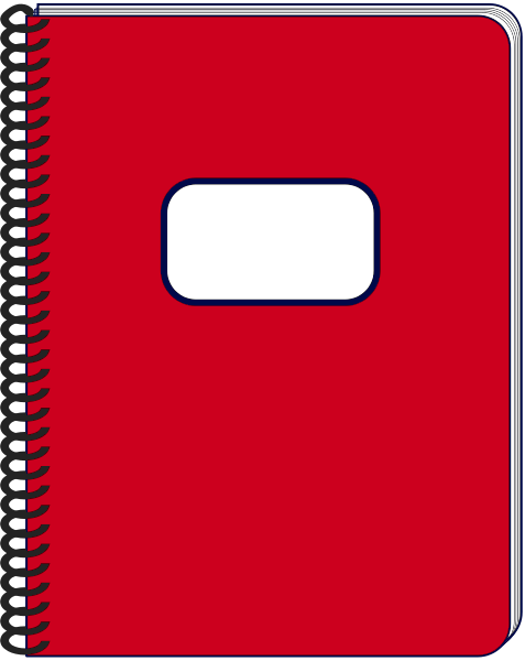 notebook page clipart - photo #37