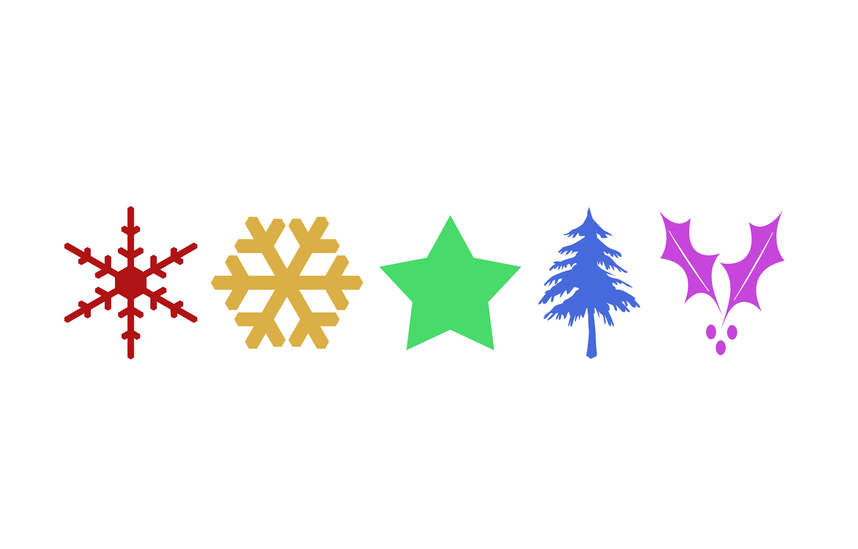 Christmas Symbols Clip Art Cliparts