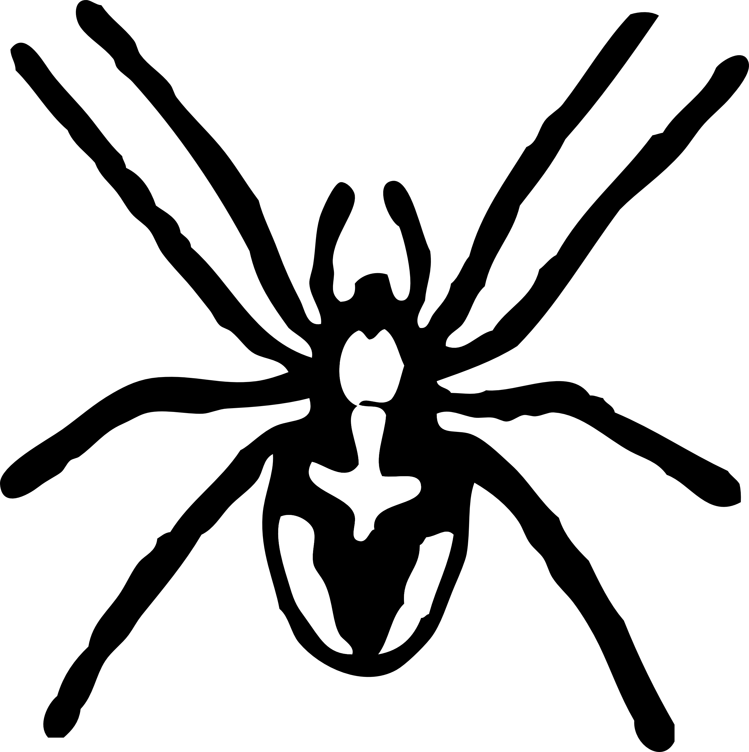 Clip Art Spiders - Cliparts.co