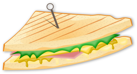 Grilled Cheese Clipart - Cliparts.co