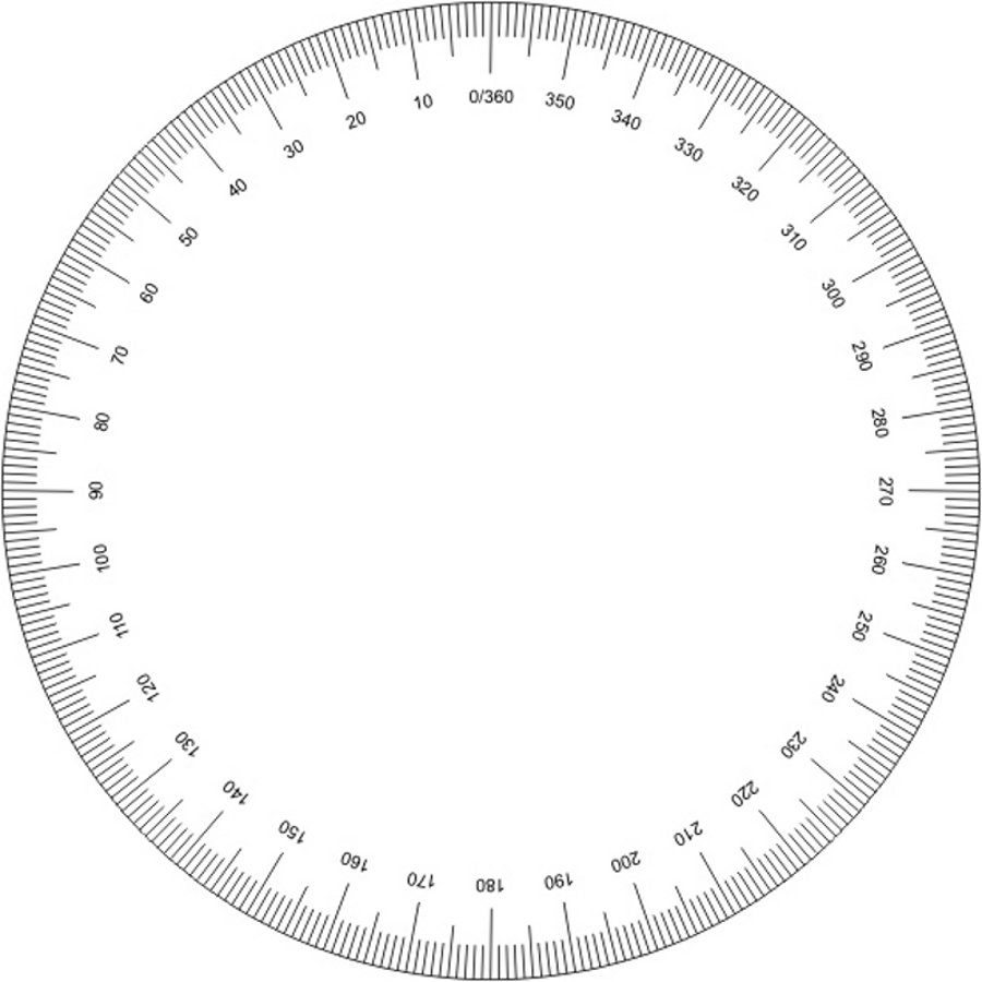 Ridiculous image pertaining to printable protractor 360