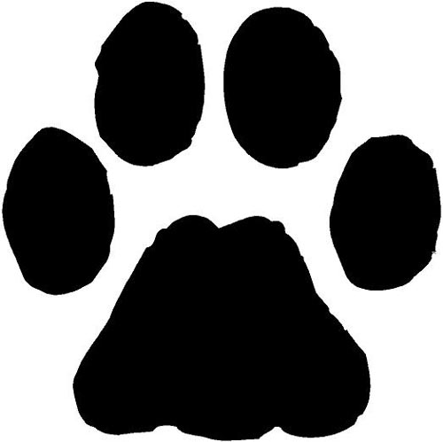 dog paw prints in - photo #16