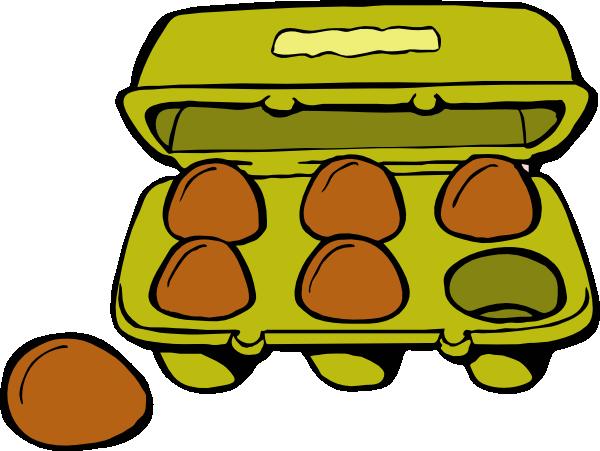 Egg Carton clip art - vector clip art online, royalty free ...