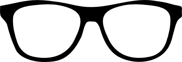 Glasses Frame Black And White : Glasses Clip Art - Cliparts.co