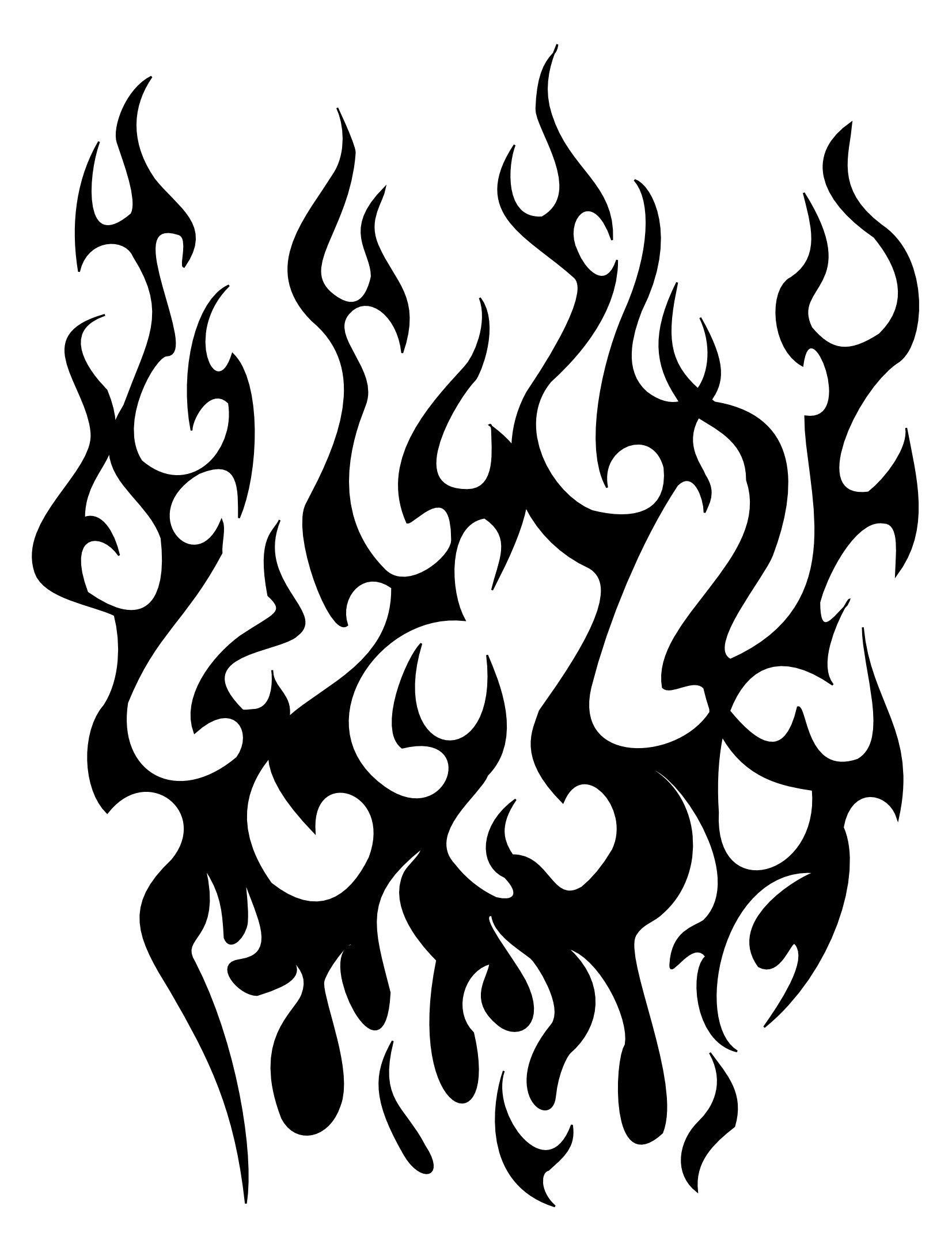 Fire Tribal Tattoo Cliparts Co