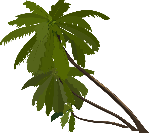 Jungle Leaves Clip Art