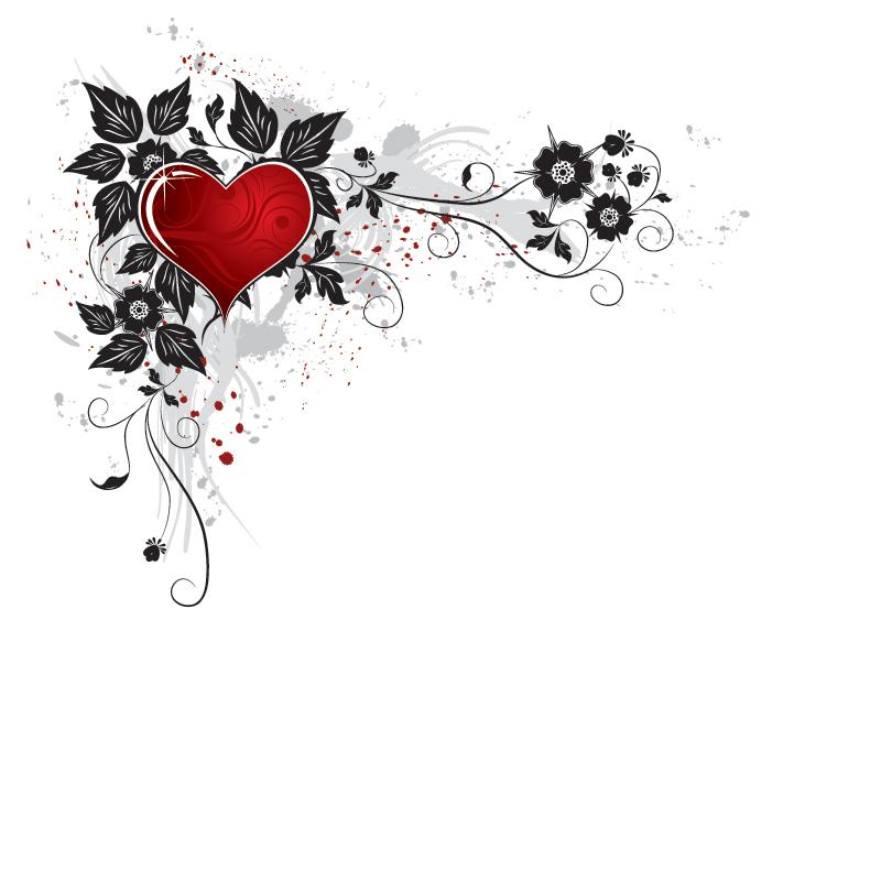 Valentine Clip Art Borders 092612» Vector Clip Art