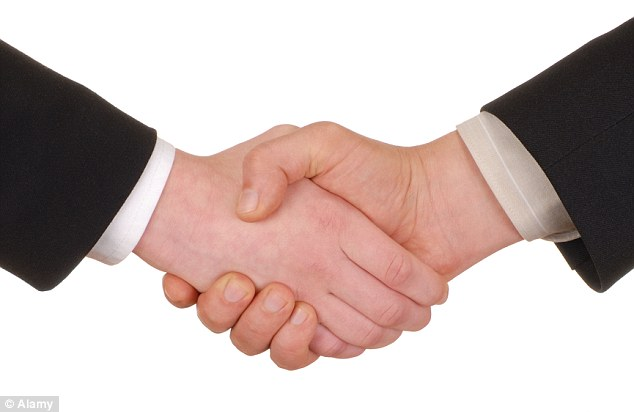 Why a handshake is more than a sign of friendship: Humans use ...