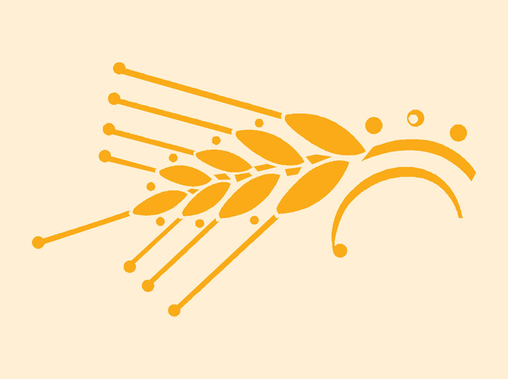 Wheat Vector Free - Cl...