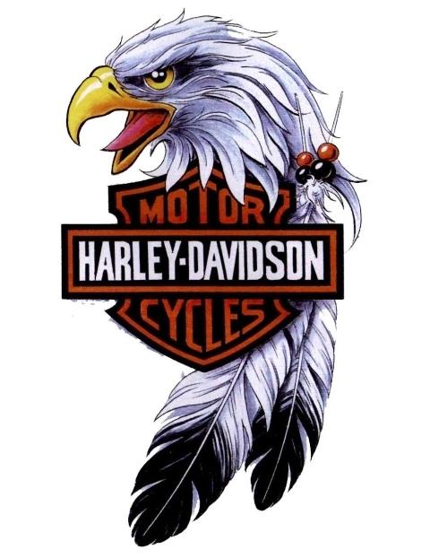 Harley davidson logo stencil for Free harley davidson tattoo designs