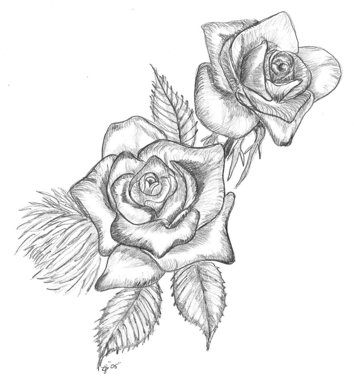 Черно белые рисунки карандашом простые