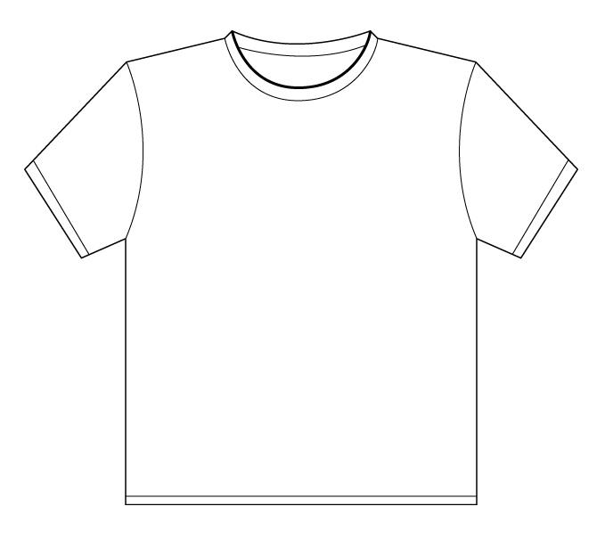Shirt Outline Cliparts Co