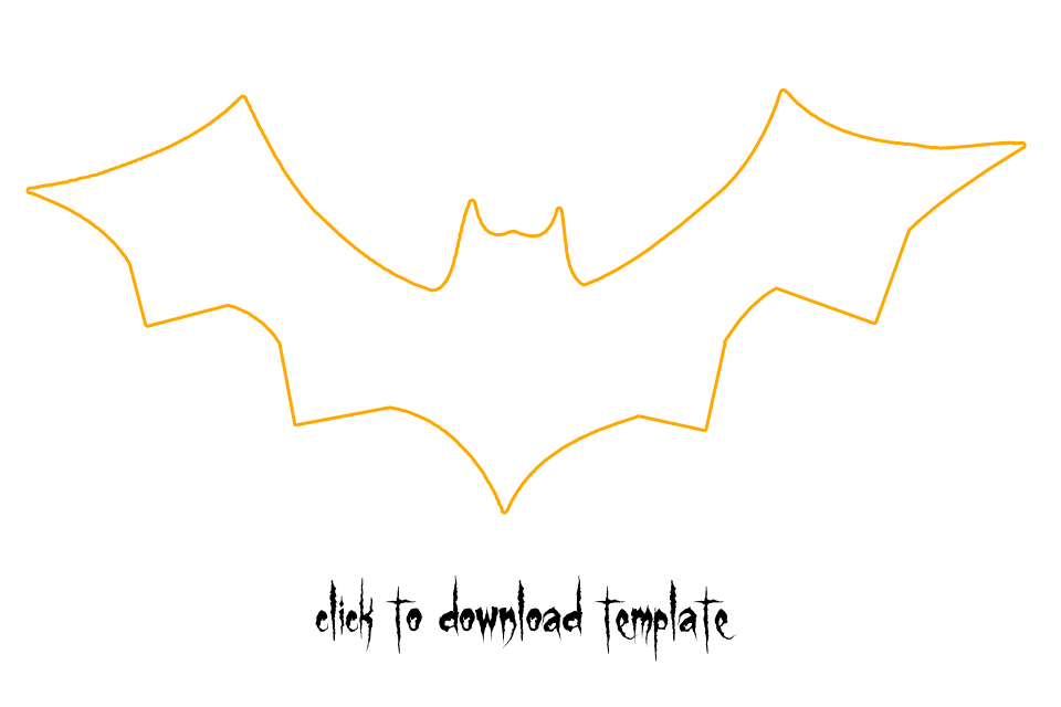 Bat Template Cliparts Co