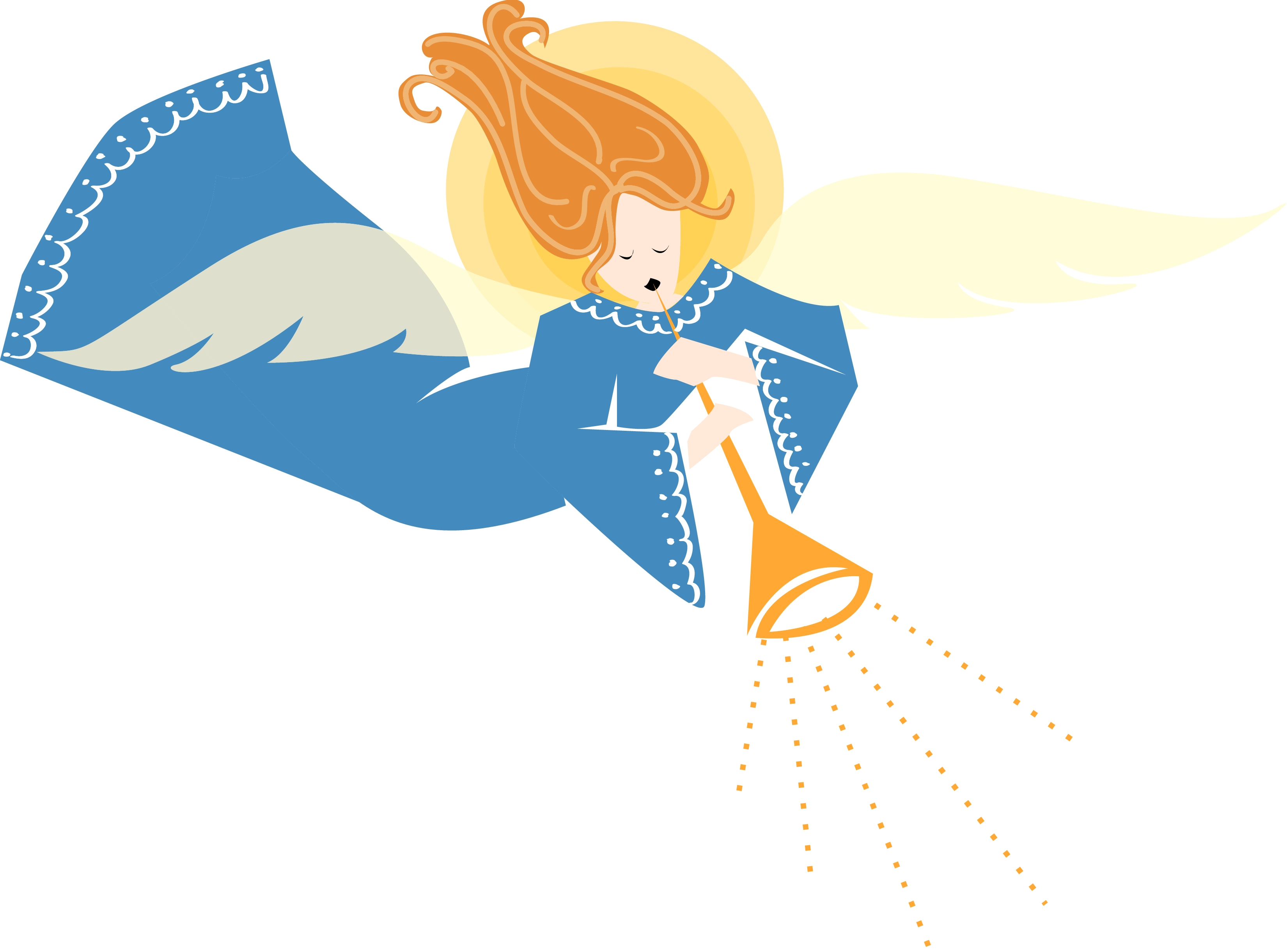 christmas angel clipart - Free Large Images