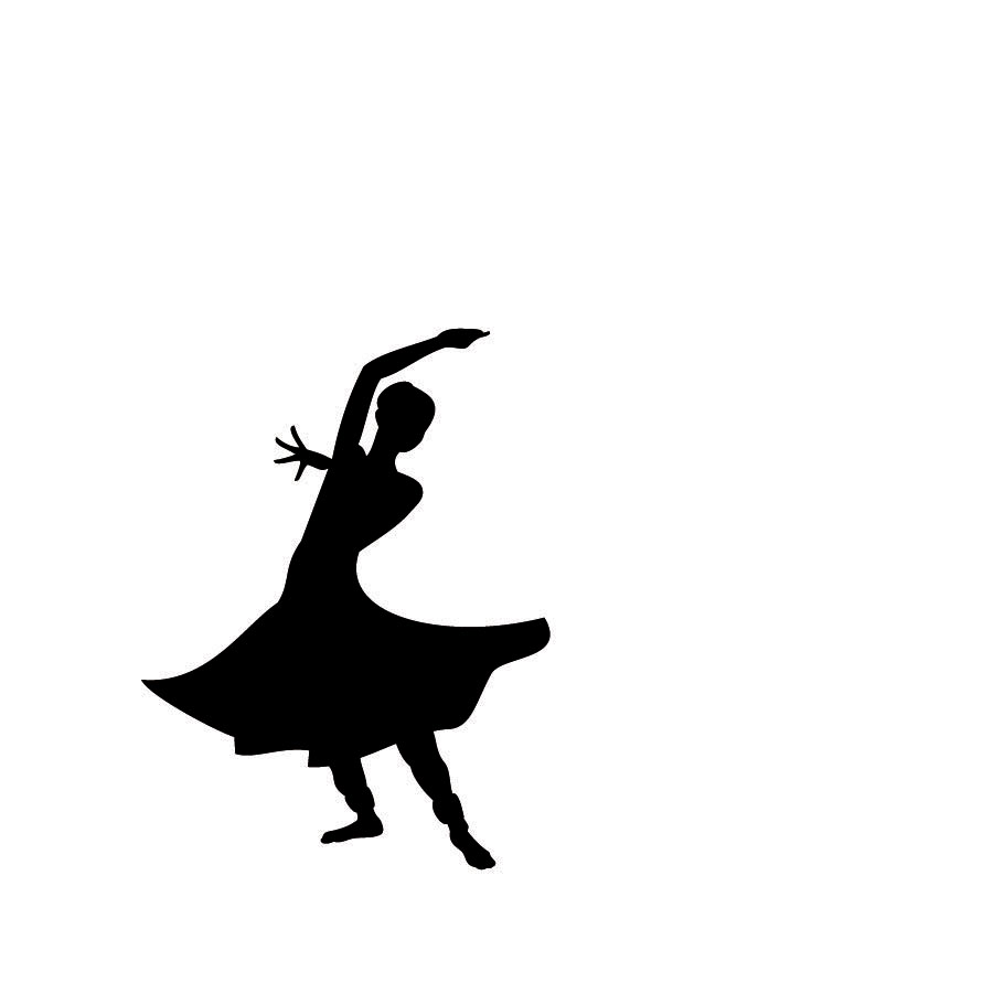 Dance Silhouette - Cliparts.co