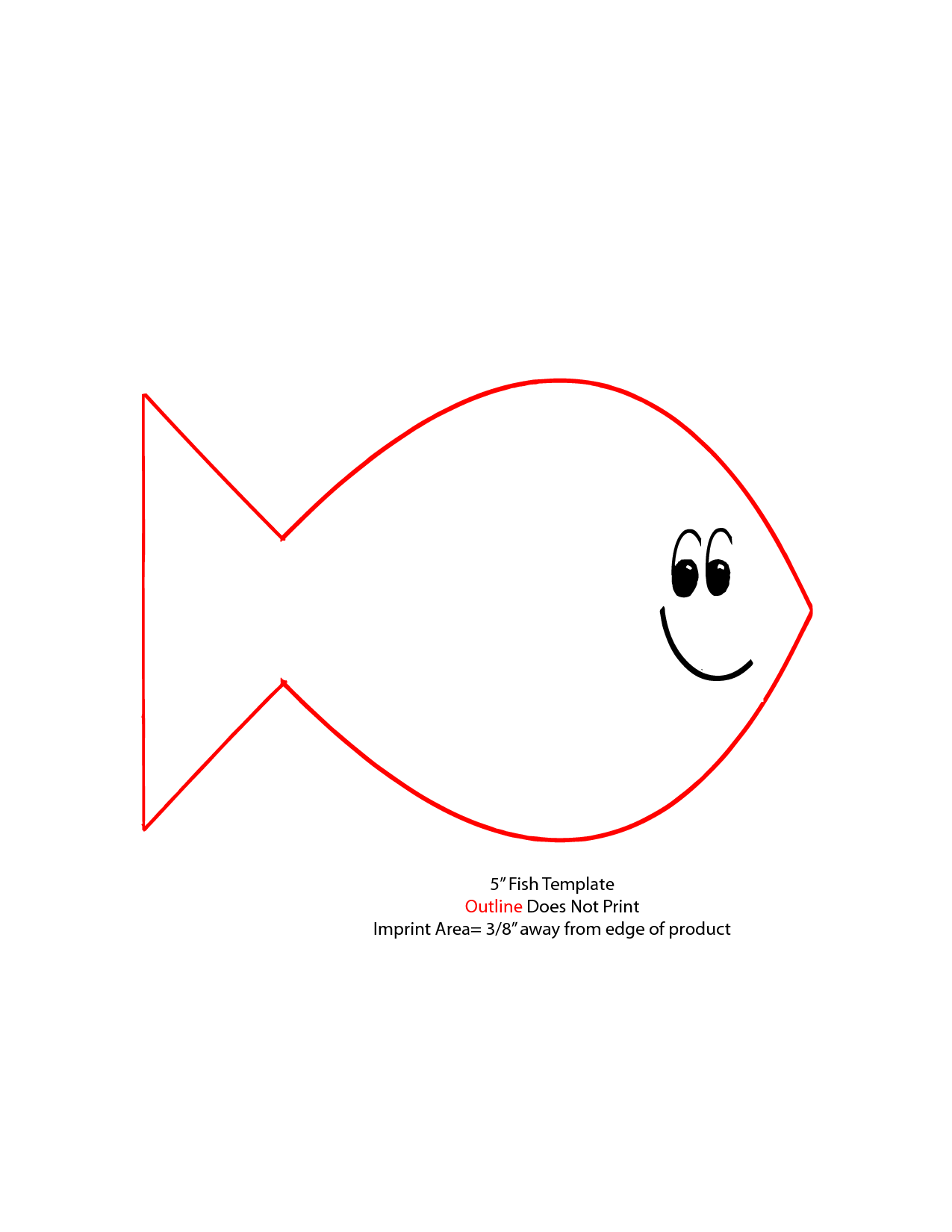 Outline Of Fish Clipart Cliparts Co