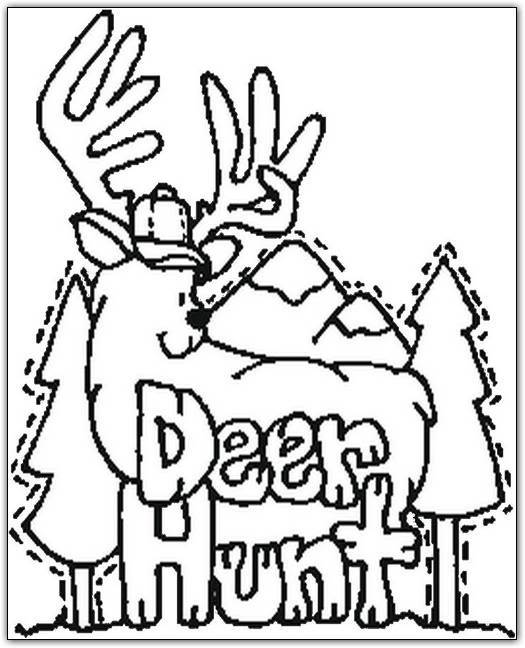 free duck hunting coloring pages - photo#22