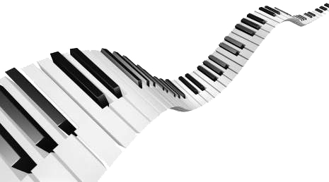 Piano Keys Png - Cliparts.co