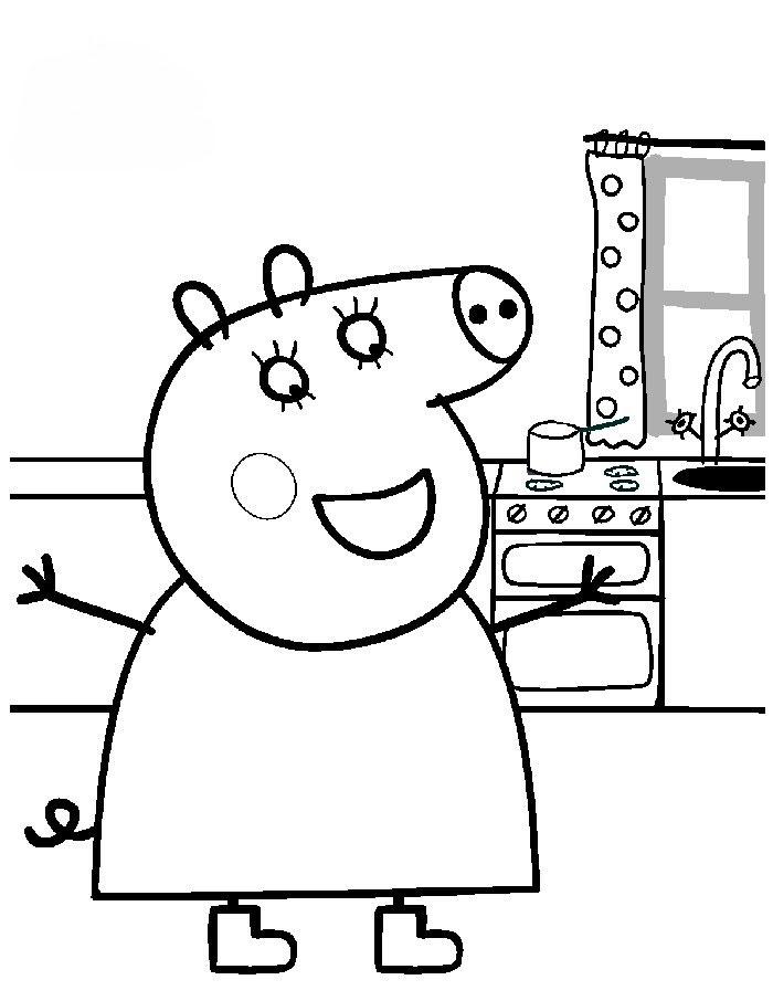 Peppa Pig Clip Art Cliparts Co Peppa Pig Princess Clipart Free Coloring Sheets