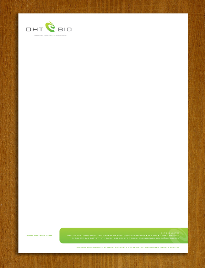 Letterhead borders for Headshot border template