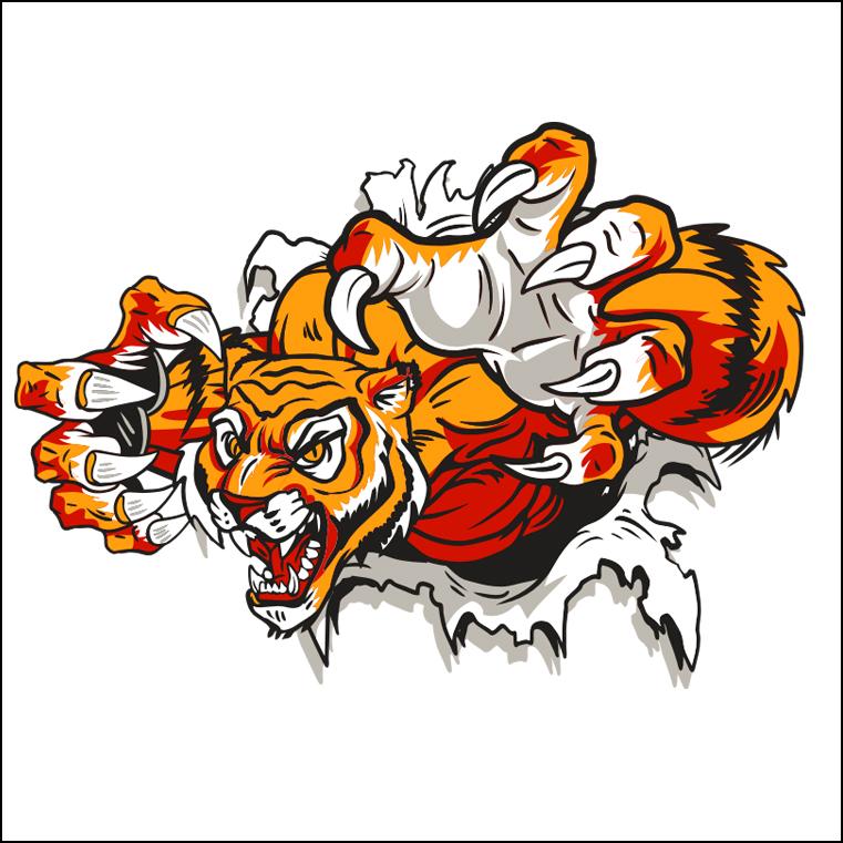 free clip art tiger head - photo #14