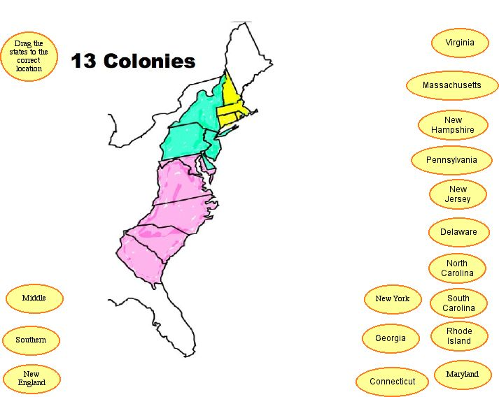 13 Colonies Pictures - Cliparts.co