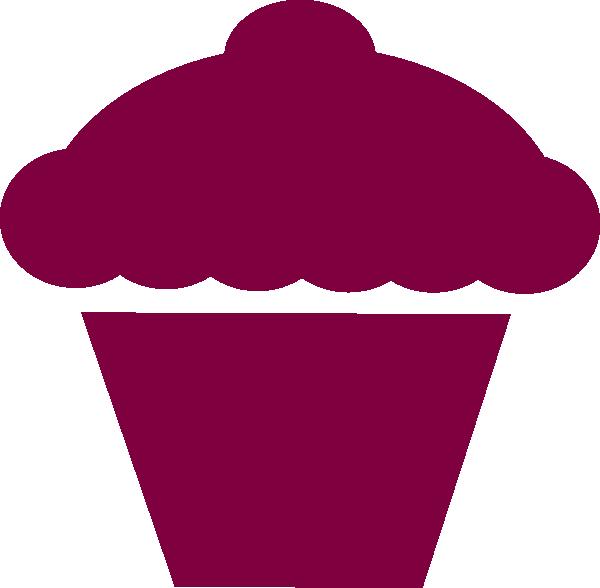 Cupcake clip art - vector clip art online, royalty free & public ...