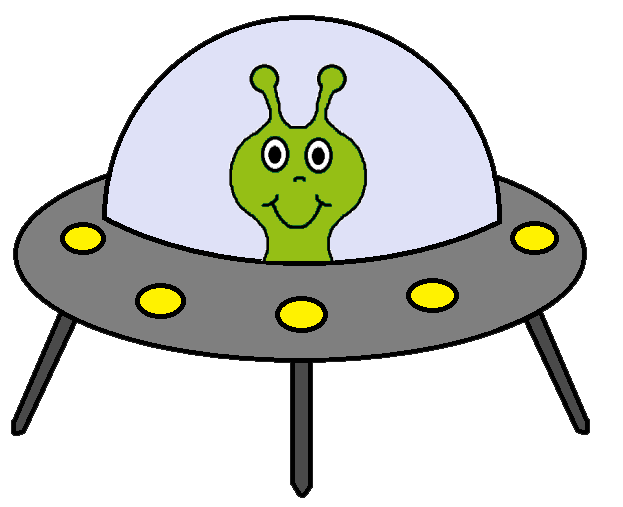 Alien Spaceship Clipart - ClipArt Best
