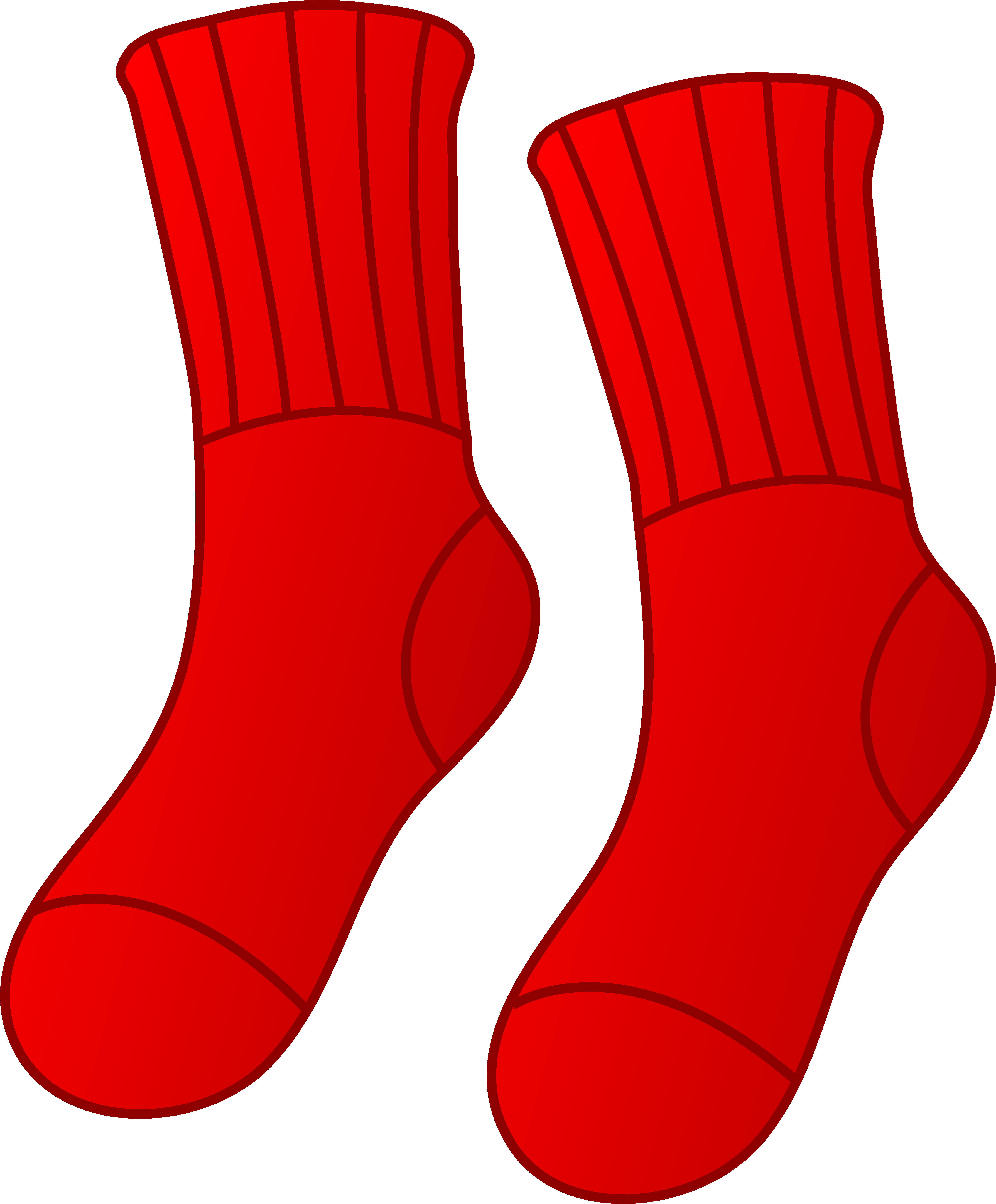 Red Socks Clip Art | Clipart Panda - Free Clipart Images
