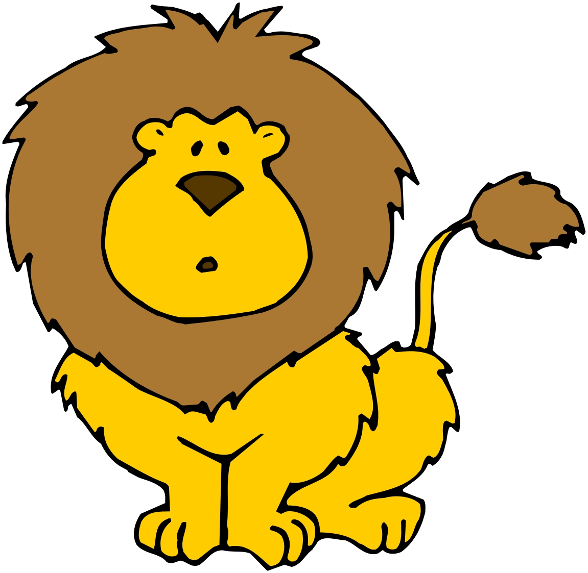 Cartoon pictures of lions