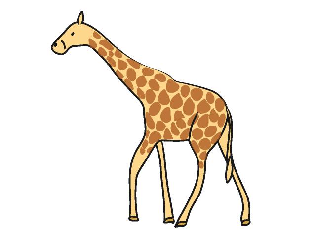 free clipart of giraffe - photo #31