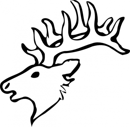 Deer Head Stencil Vector - Download 1,000 Vectors (Page 1)