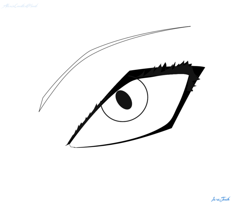 Line Drawing Eye : Eye line art cliparts