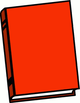 Free Red Book Clipart - Public Domain Red Book clip art, images ...