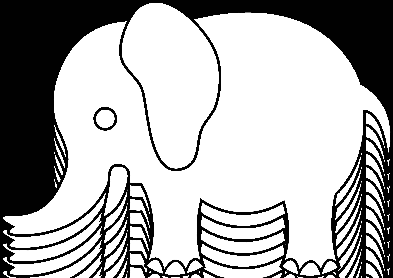 Baby Shower Giraffe Clip Art Elephant Drawings For ...