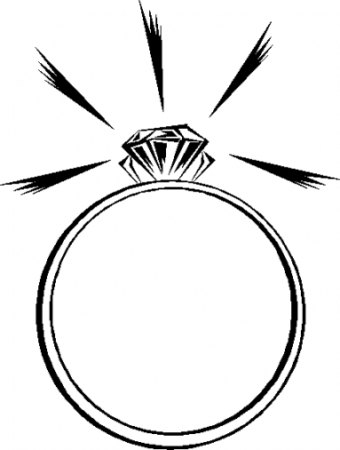 clipart of a diamond ring - photo #36