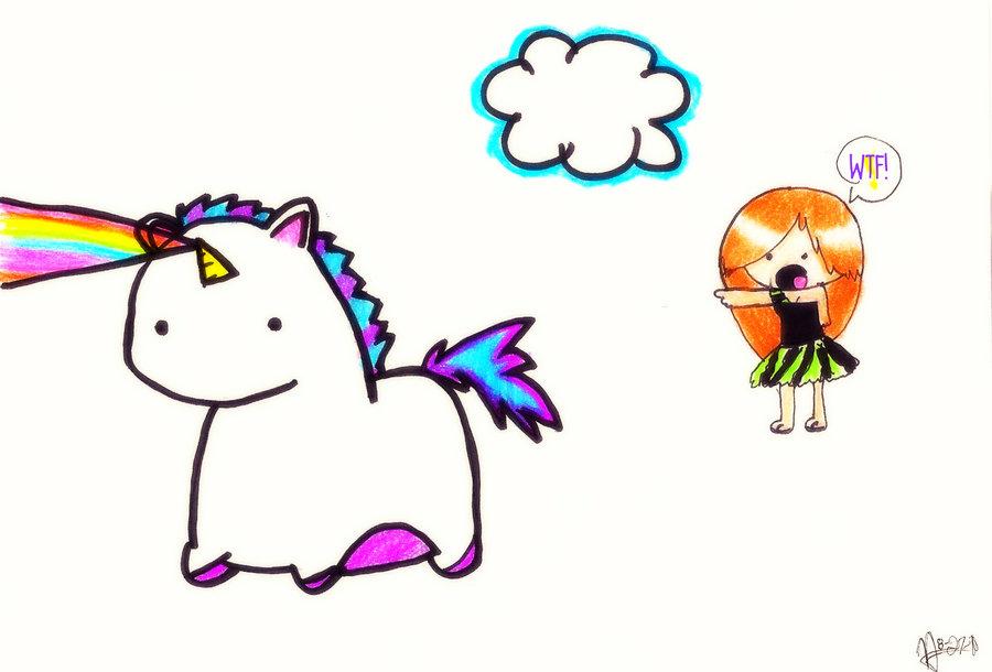 rainbow unicorn clipart - photo #42
