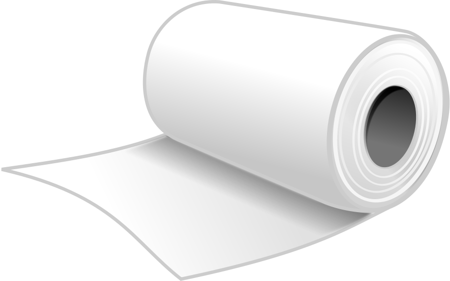 Rolled Newspaper Clipart
