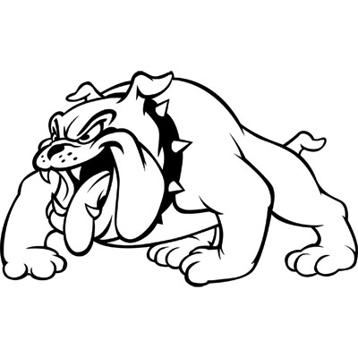 Clipart Bulldog on georgia bulldogs football logo