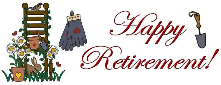 clip art images for retirement - photo #7