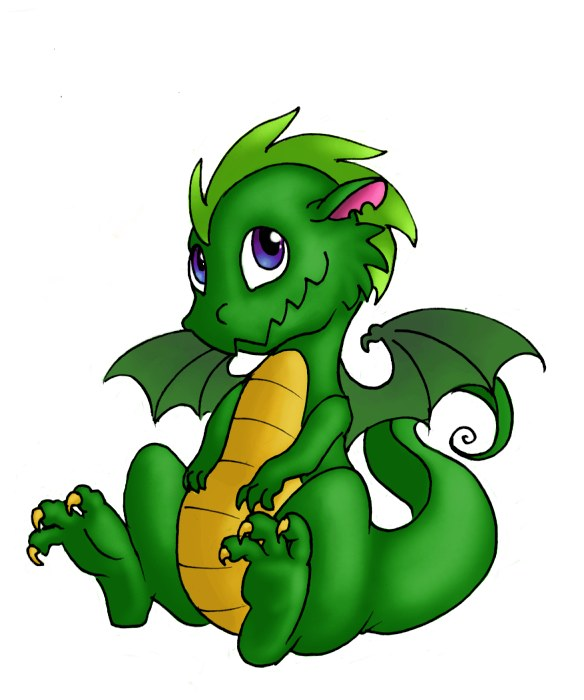 Cute Baby Dragon Clipart | Clipart Panda - Free Clipart Images