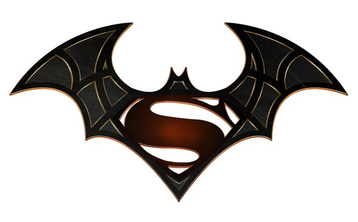 Batman vs. Superman Logo | James Poai Art